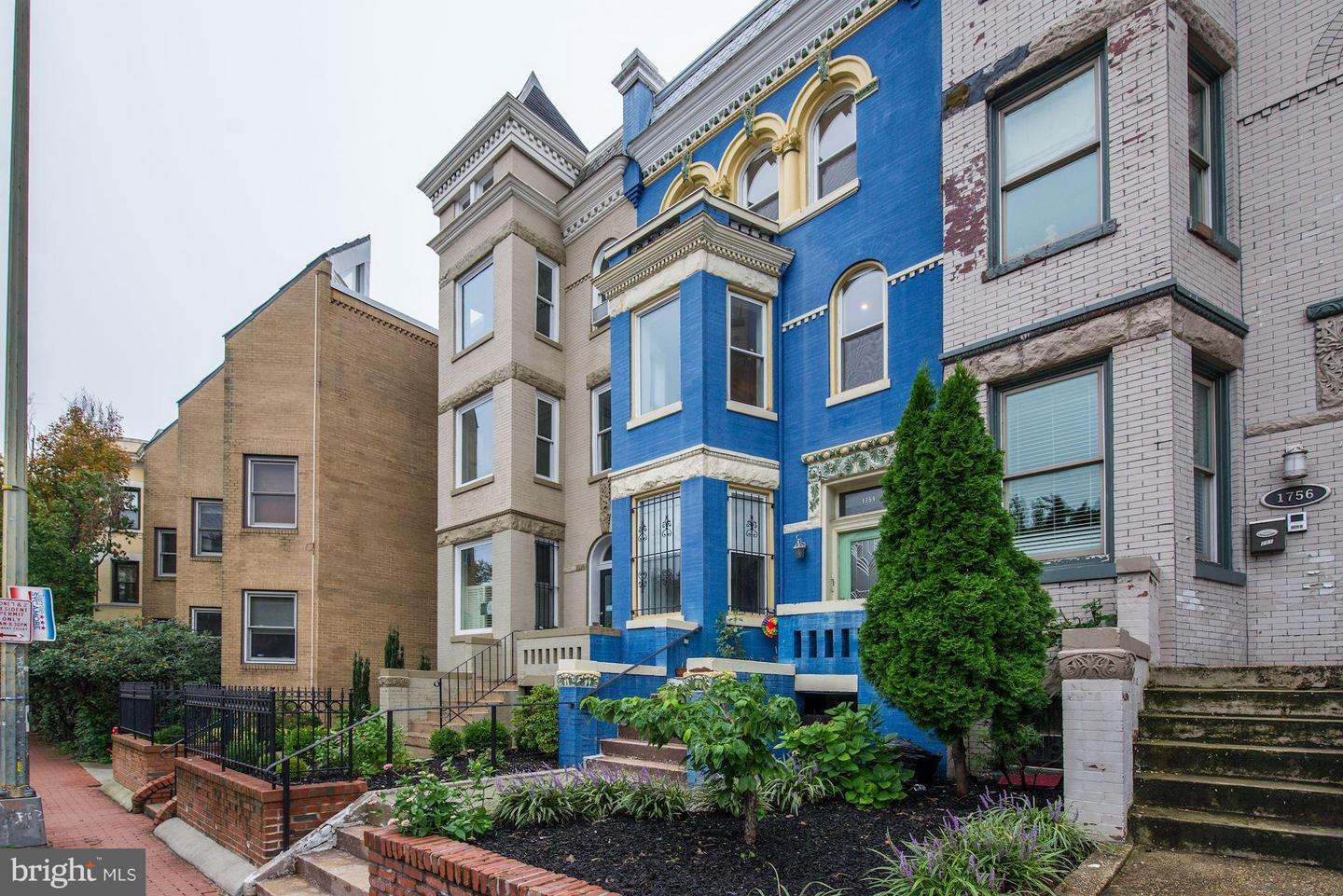 Single Family Home for Sale at 1754 U St Nw #3 1754 U St Nw #3 Washington, District Of Columbia 20009 United States