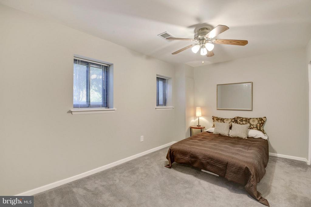4th Bedroom on Lower Level - 4643 MAYHUNT CT, ALEXANDRIA