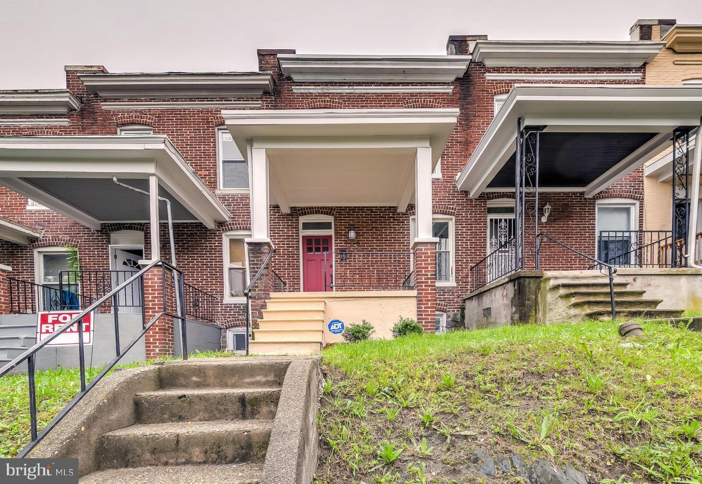 Single Family for Sale at 705 Denison St Baltimore, Maryland 21229 United States