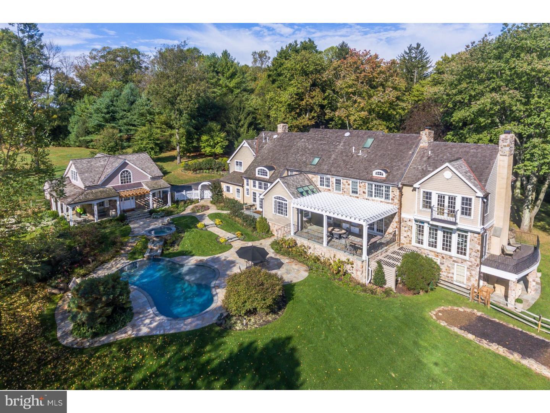 Частный односемейный дом для того Продажа на 147 JAFFREY Road Malvern, Пенсильвания 19355 Соединенные Штаты