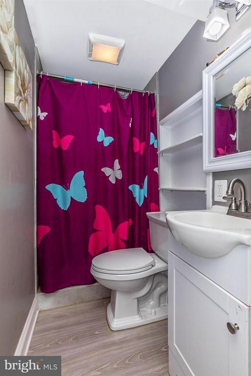 Full Bathroom in Basement - 17320 SOPER ST, POOLESVILLE