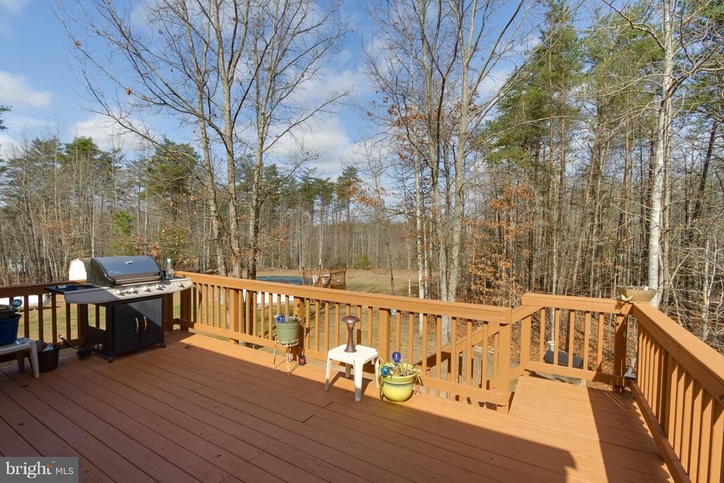 View from Deck - 7007 HUNTERS TRACE WAY, SPOTSYLVANIA
