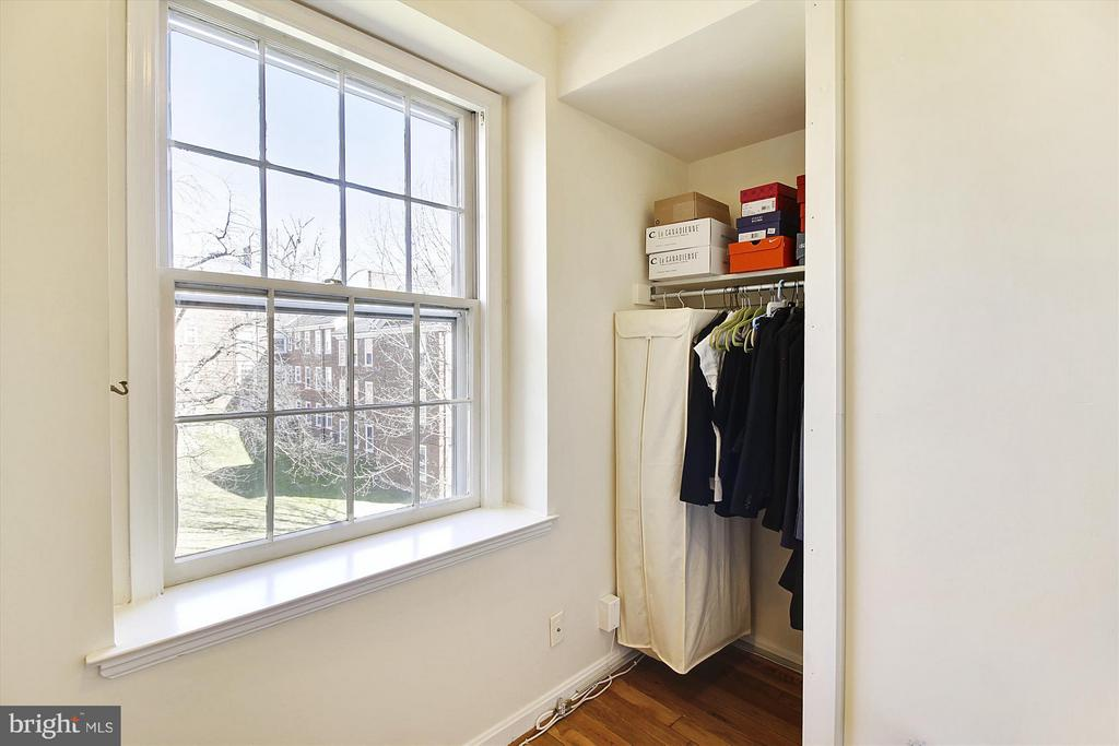 Master walk-in closet 2 - 3801 39TH ST NW #F84, WASHINGTON