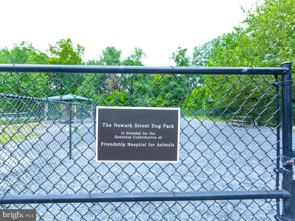 Newark Street Dog Park - 3801 39TH ST NW #F84, WASHINGTON