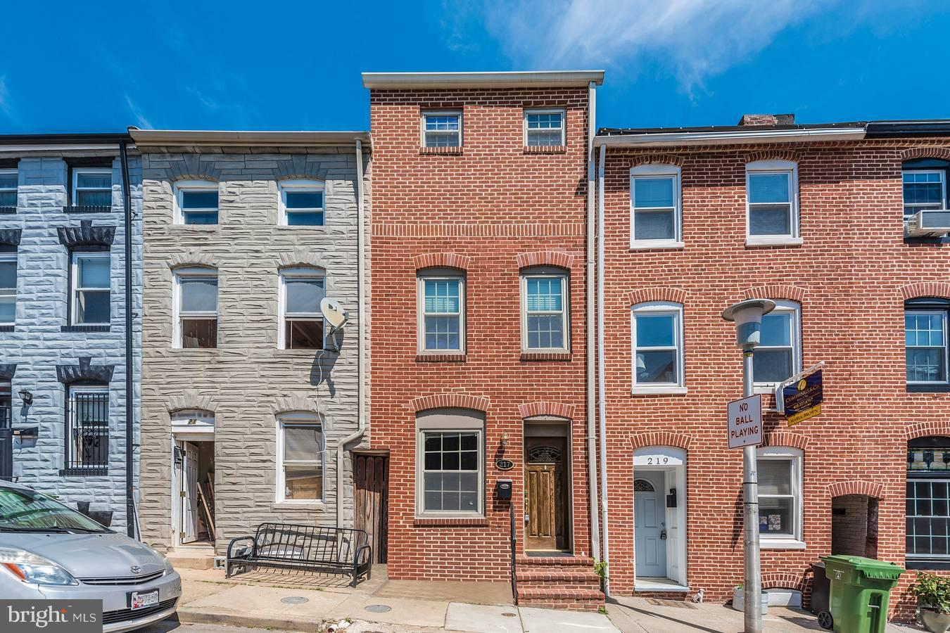 Other Residential for Rent at 217 Castle St S Baltimore, Maryland 21231 United States