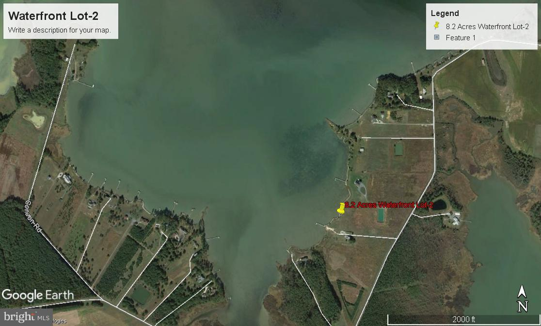 Land for Sale at W/S Hills Point Rd Cambridge, Maryland 21613 United States