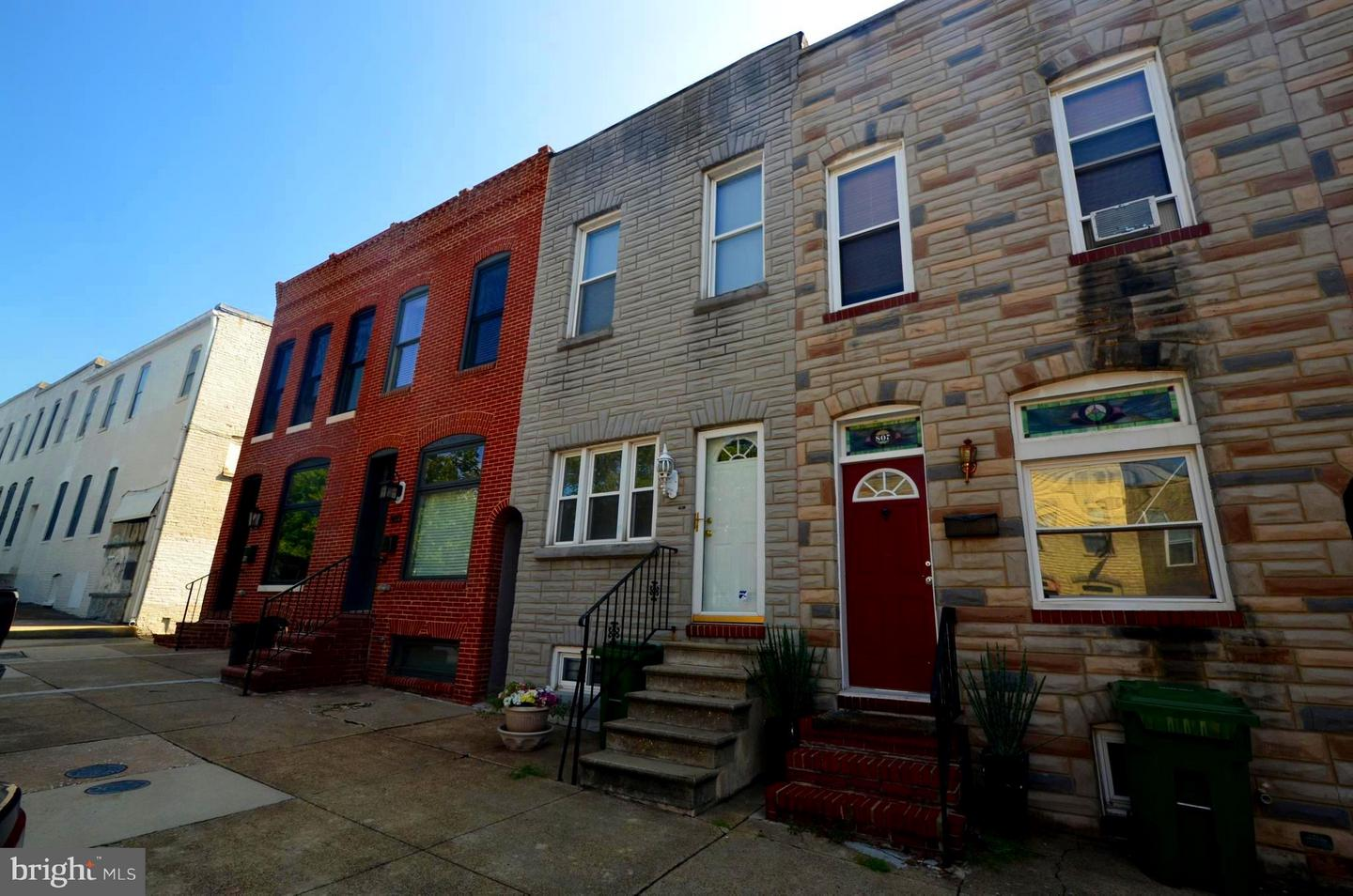 Single Family for Sale at 805 Milton Ave S Baltimore, Maryland 21224 United States