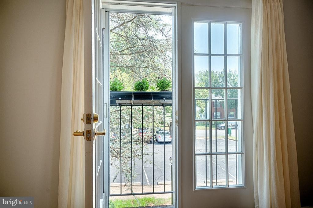 View Juliet balcony - 2848-C WAKEFIELD ST #C, ARLINGTON