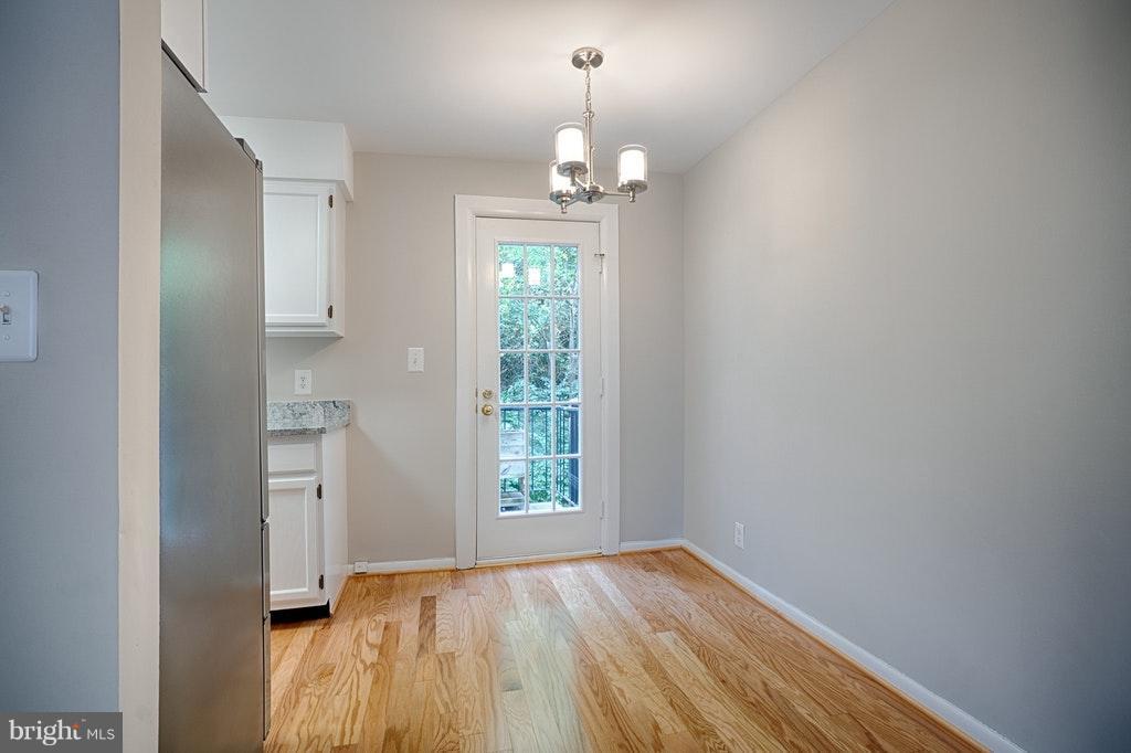 Dining Room door to balcony - 2848-C WAKEFIELD ST #C, ARLINGTON