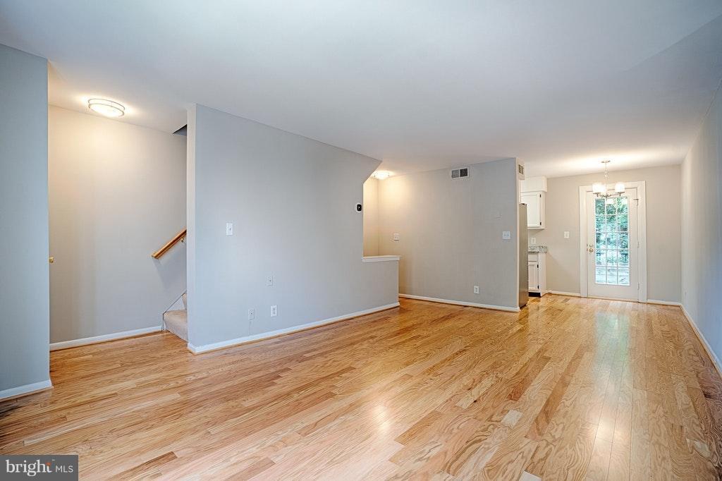 Living Room Stairs to 2nd floor - 2848-C WAKEFIELD ST #C, ARLINGTON