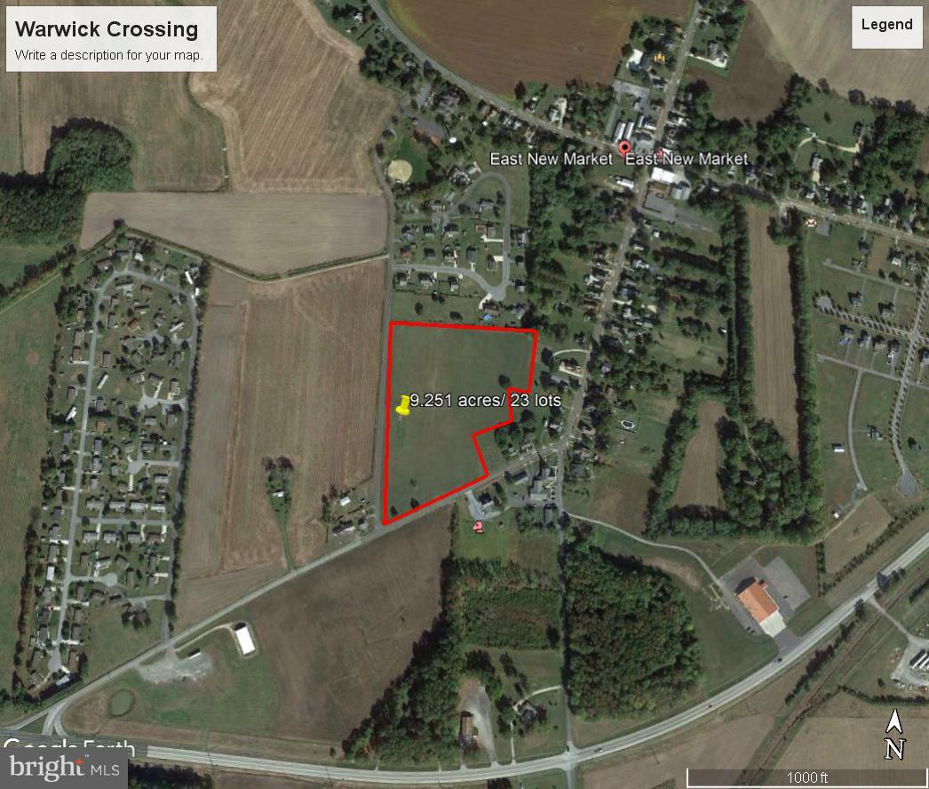 Đất đai vì Bán tại East New Market, Maryland 21631 Hoa Kỳ
