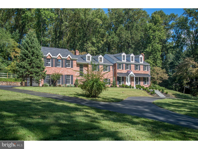 Частный односемейный дом для того Продажа на 118 JAFFREY Road Malvern, Пенсильвания 19355 Соединенные Штаты