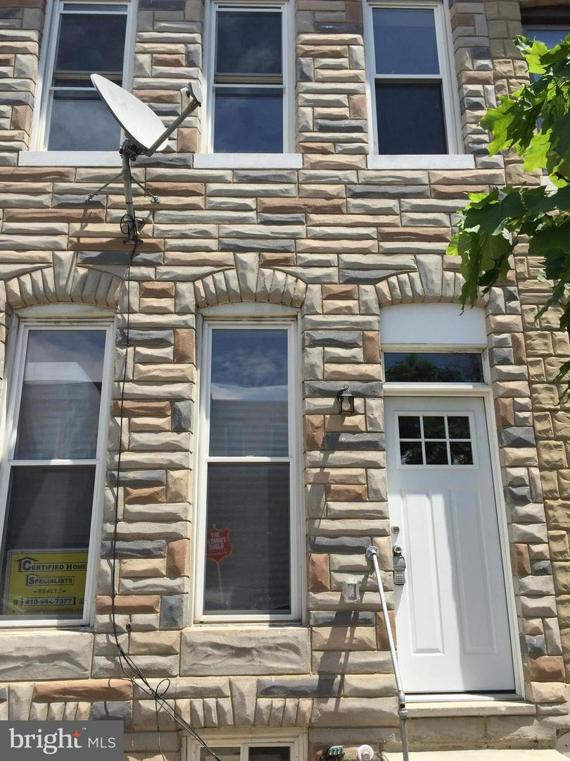 Single Family for Sale at 445 Milton Ave N Baltimore, Maryland 21224 United States