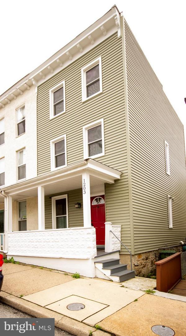 Single Family for Sale at 1203 Union Ave Baltimore, Maryland 21211 United States