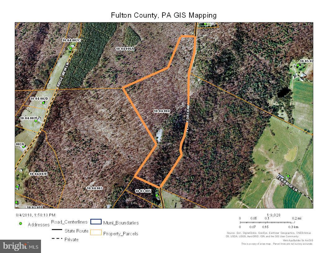 Land for Sale at Peach Orchard Rd McConnellsburg, Pennsylvania 17233 United States