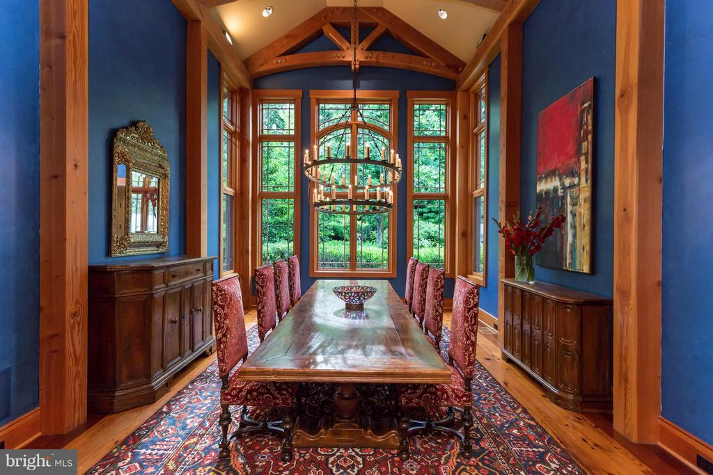 Spectacular dining room - 8922 JEFFERY RD, GREAT FALLS