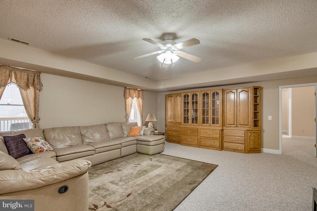 Basement  Family Room - 15 BEAVER RIDGE RD, STAFFORD