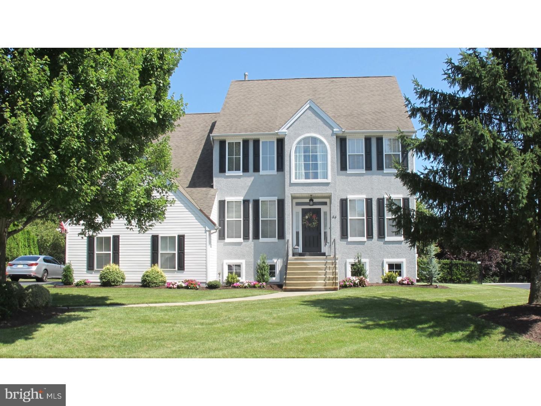 Maison unifamiliale pour l Vente à 44 EMERSON Drive Cinnaminson, New Jersey 08077 États-Unis