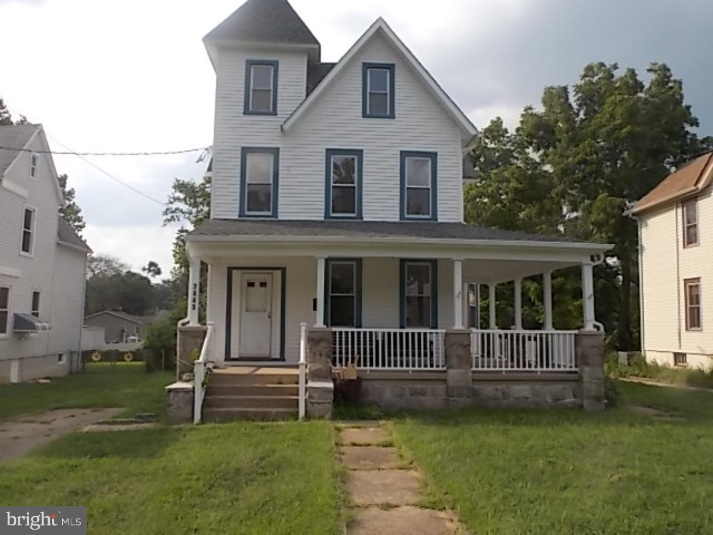 Casa Unifamiliar por un Venta en 7445 PARK Avenue Pennsauken, Nueva Jersey 08109 Estados Unidos
