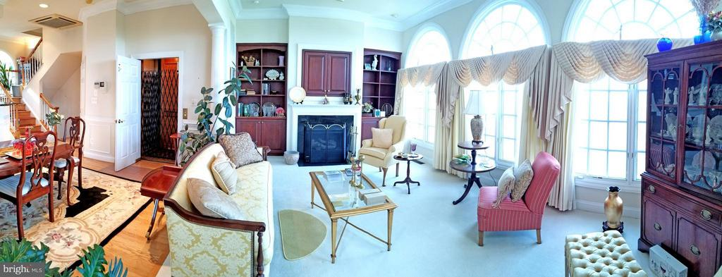 Family Room - 1408 N MEADE ST, ARLINGTON