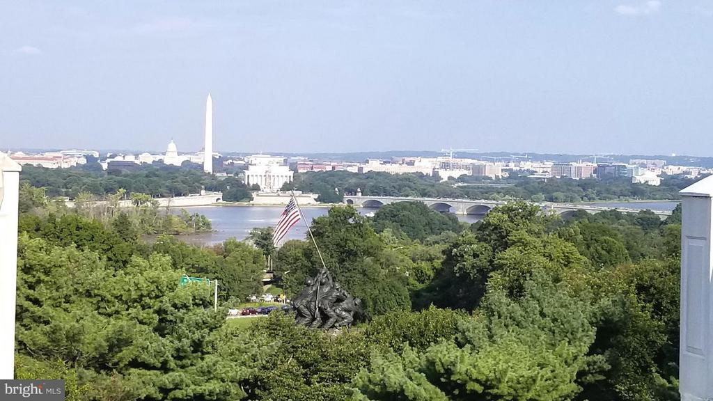 AMAZING View of Iwo Jima to Capitol Building - Day - 1408 N MEADE ST, ARLINGTON