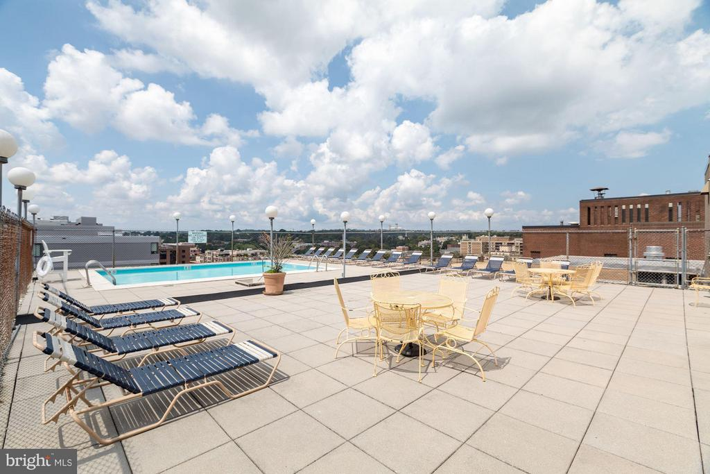 Roof Top Pool - 1260 21ST ST NW #510, WASHINGTON