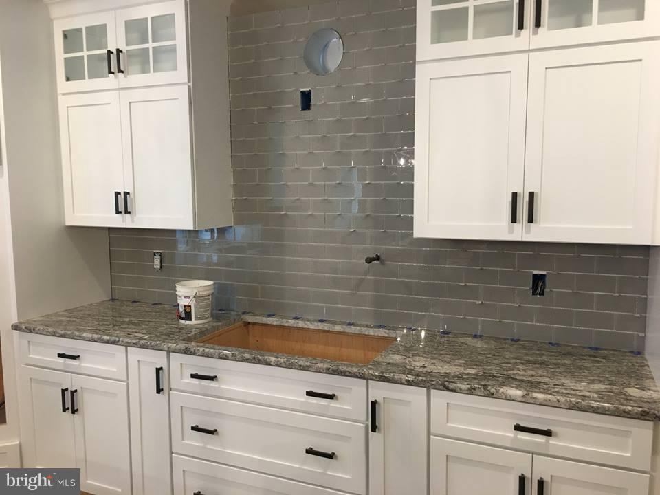Kitchen, in progress