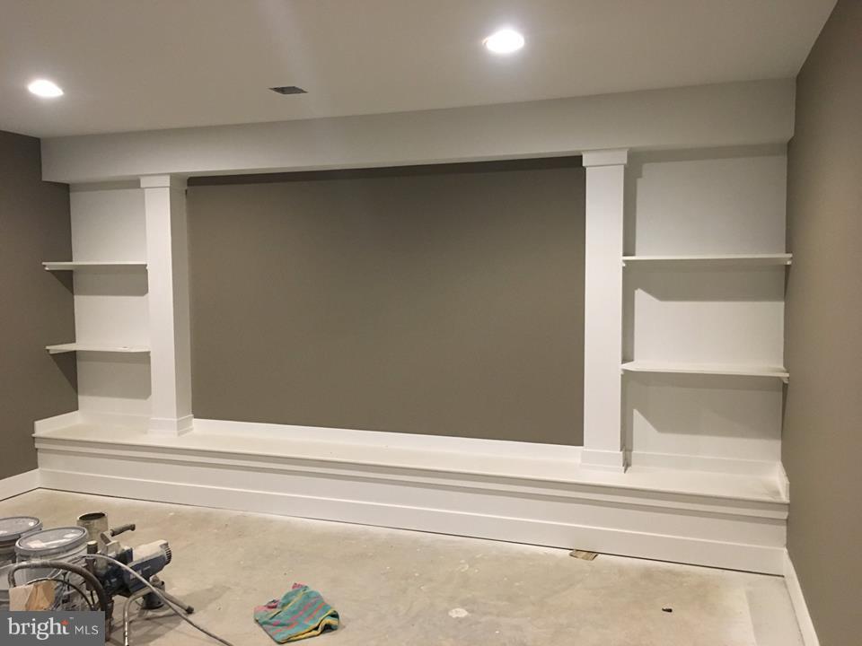 Media Room, in progress