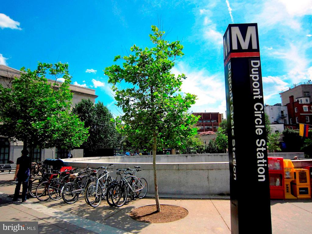 Dupont Circle Metro, 3 blocks away - 1609 22ND ST NW, WASHINGTON