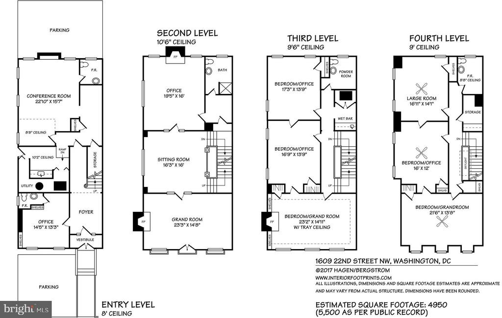 Floor plan - 1609 22ND ST NW, WASHINGTON