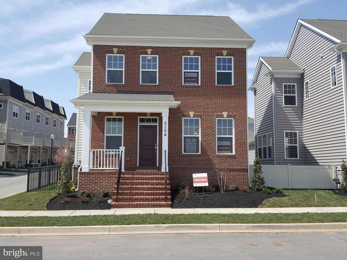 Photo of home for sale at 5104 Continental Drive, Frederick MD