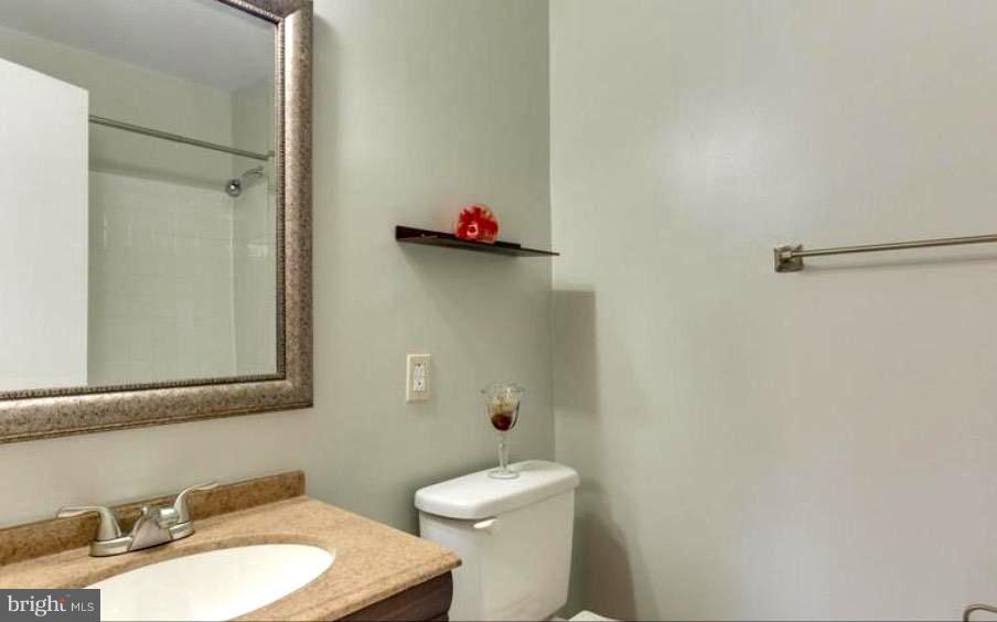 UP-DATED MASTER BATHROOM, SHOWER - 7340 ELDORADO CT, MCLEAN