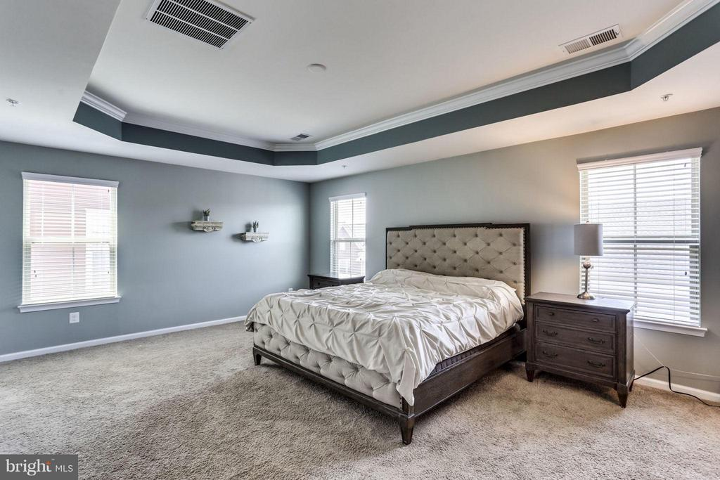 Bedroom (Master) with tray ceilings! - 2424 GLOUSTER POINTE DR, DUMFRIES