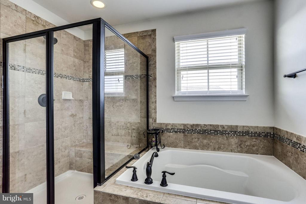 Bath (Master) with shower & Tub! - 2424 GLOUSTER POINTE DR, DUMFRIES