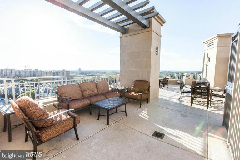Rooftop views - 8220 CRESTWOOD HEIGHTS DR #203, MCLEAN