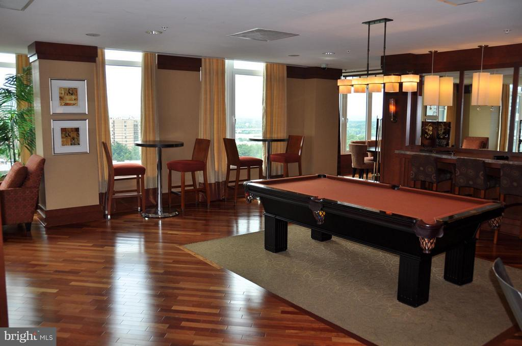 Billiards - 8220 CRESTWOOD HEIGHTS DR #203, MCLEAN