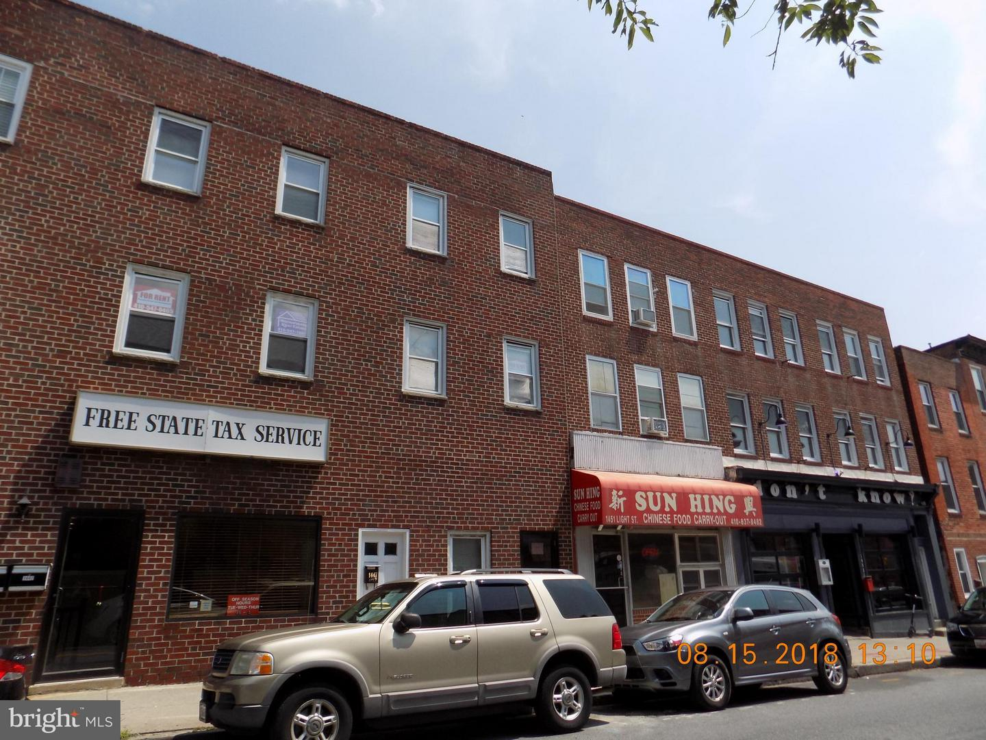 Other Residential for Rent at 1447 Light St Baltimore, Maryland 21230 United States