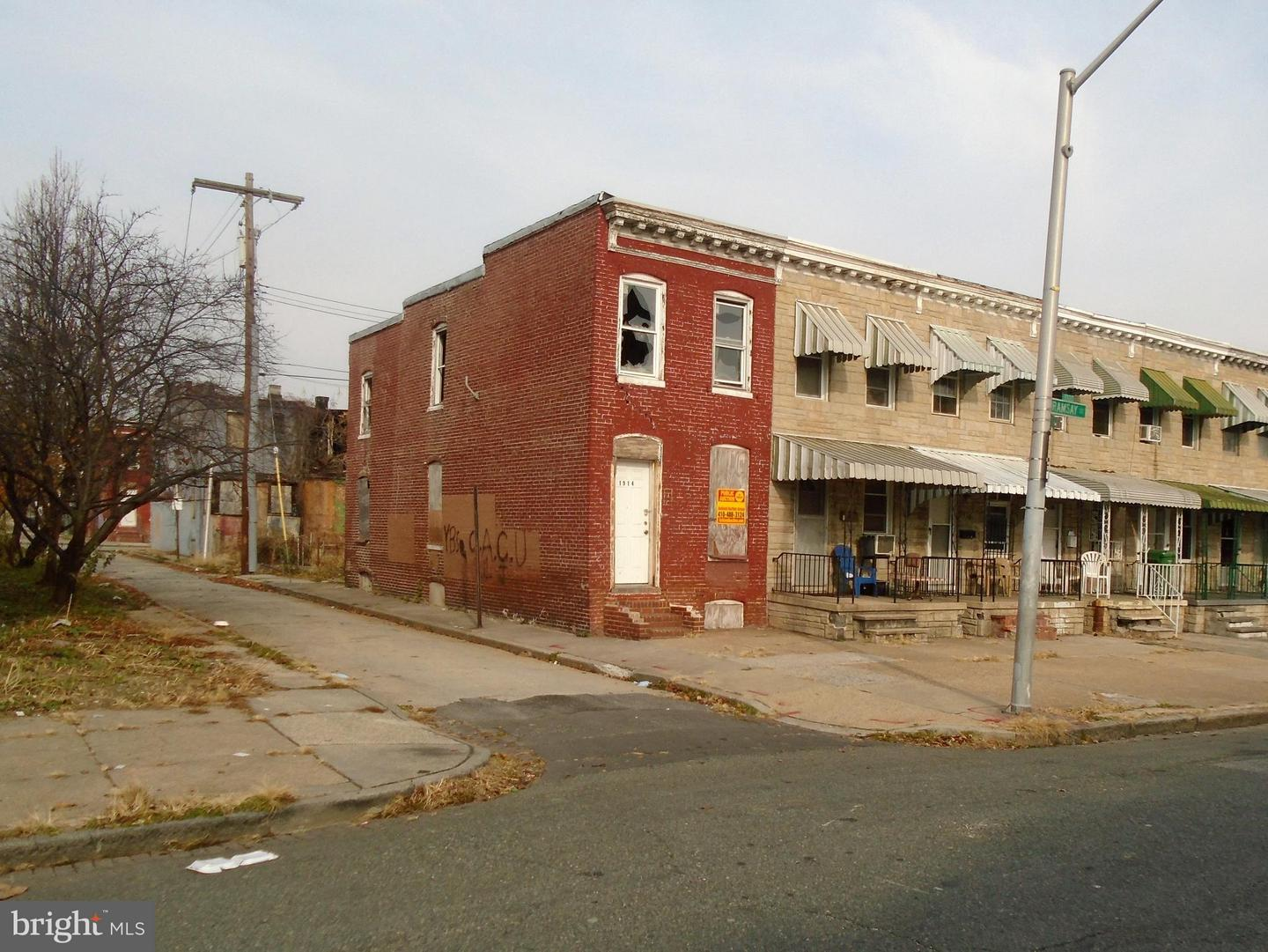 Photo of home for sale at 1914 Ramsay Street, Baltimore MD
