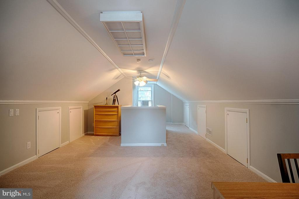 Light and bright with new carpet; eave storage - 1404 RANDOLPH ST, ARLINGTON