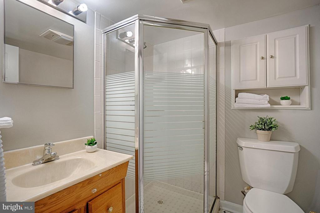 Lower level full bathroom - 1404 RANDOLPH ST, ARLINGTON