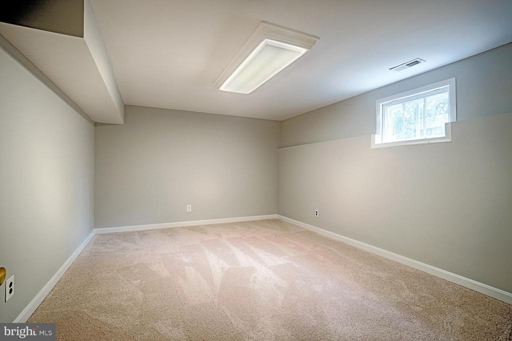 Basement den with new carpet - 1404 RANDOLPH ST, ARLINGTON