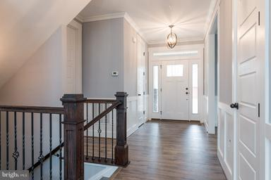 Entrance hall with superior molding - 2650 PARK MILLS RD, ADAMSTOWN
