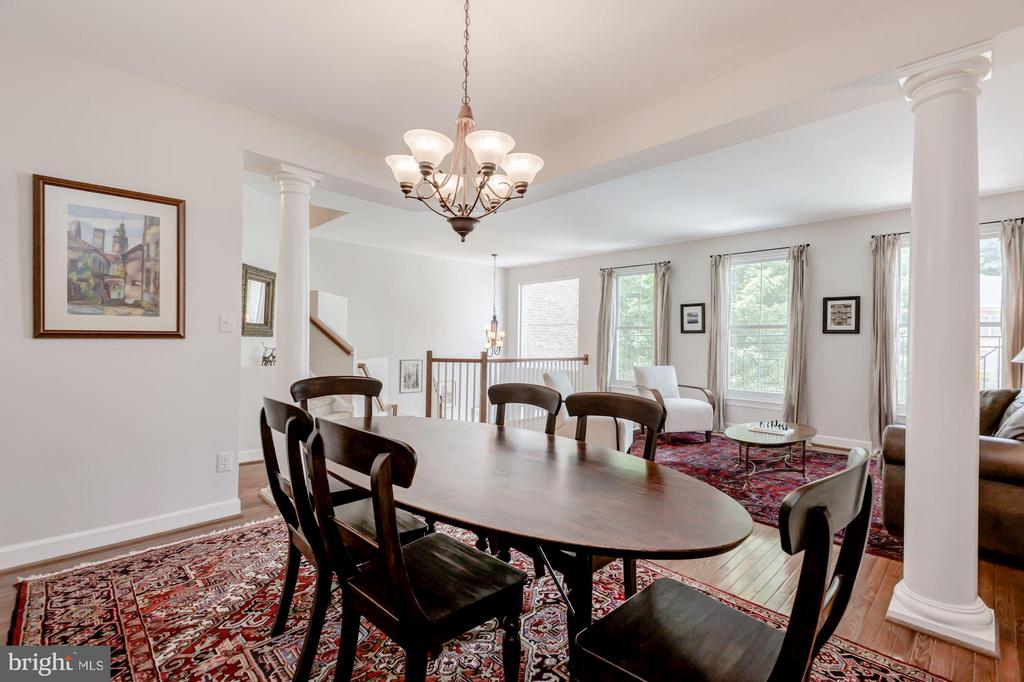 Dining Room - 1680 WATERHAVEN DR, RESTON