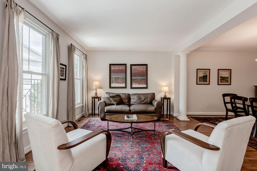 Living Room - 1680 WATERHAVEN DR, RESTON
