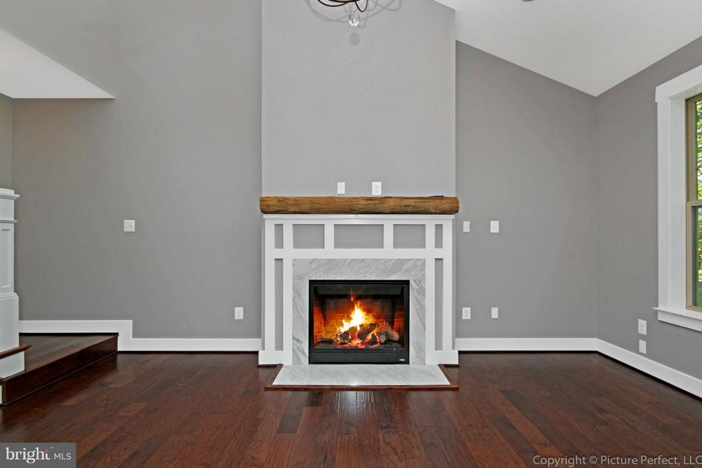Example: Fireplace - gas or wood burning - 6718 OAKRIDGE RD, NEW MARKET