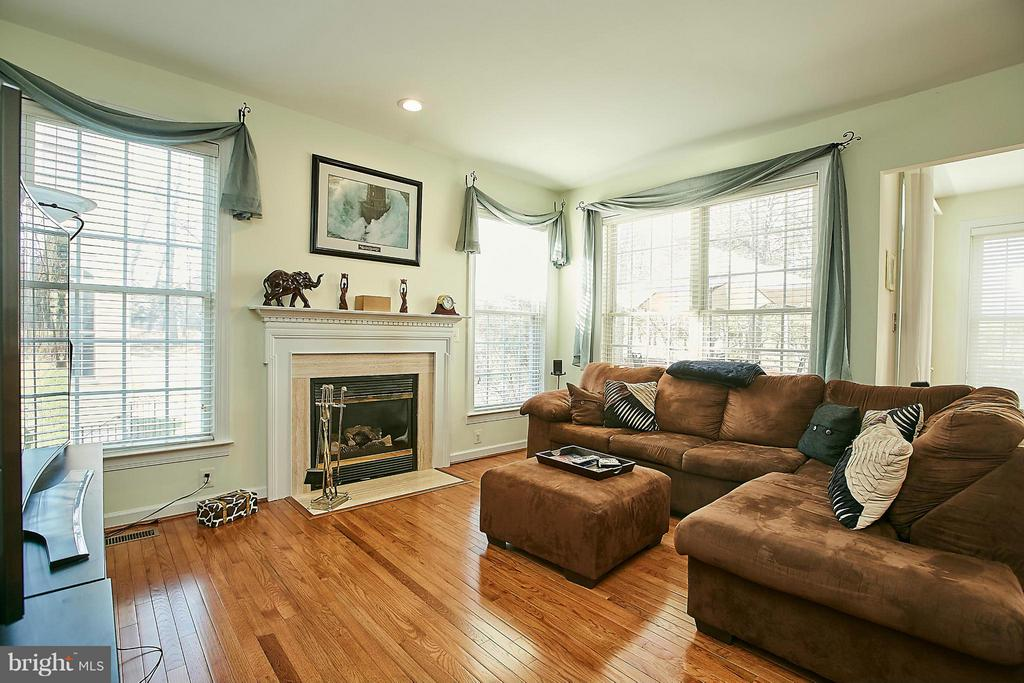 Family Room - 3814 HIGHLAND OAKS DR, FAIRFAX