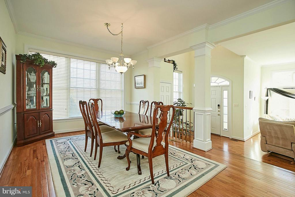 Dining Room - 3814 HIGHLAND OAKS DR, FAIRFAX