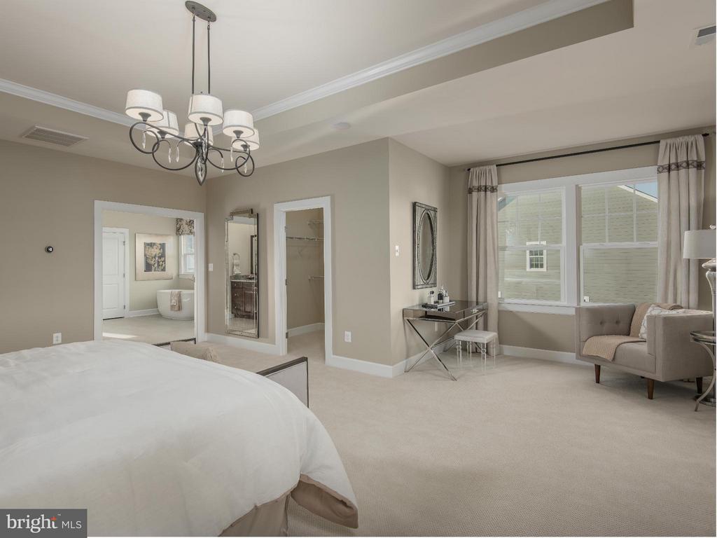 Bedroom (Master) - 0 ARLINGTON CT #5, ELLICOTT CITY