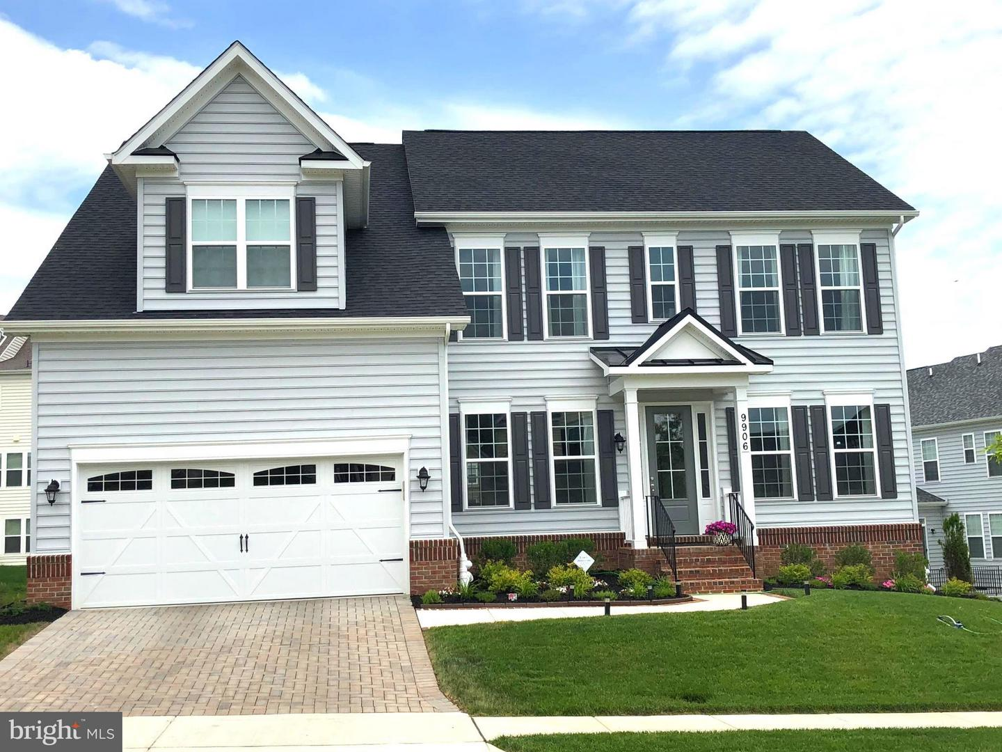 Photo of home for sale at 9919 Loch Less Lane, Laurel MD