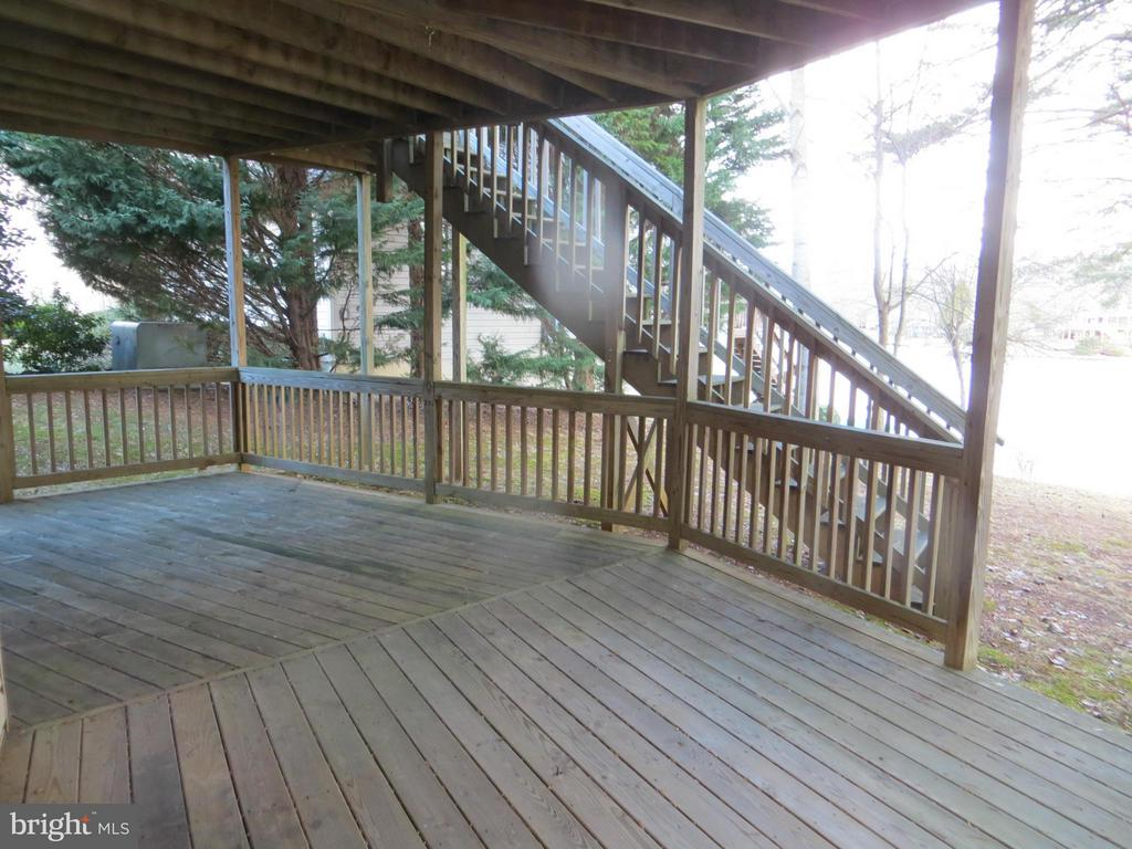Lower Deck off Bsmt - 518 HARRISON CIR, LOCUST GROVE